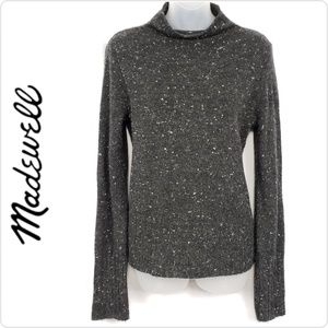 Madewell Wool Blend Speckled Sweater Size Small